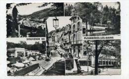 CP , 88 , PLOMBIERES-les-BAINS , Le Parc, Rue Stanislas Et Le Casino - Plombieres Les Bains