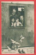 142675 / Ukraine Art Nikolay Aleksandrovich Yaroshenko - PRISONERS Life Goes On Everywhere. BIRD PIGEON R.1125 BULGARIA - Gevangenis