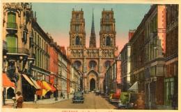 CPSM 45  ORLEANS LA RUE JEANNE D ARC - Orleans