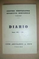 PCD/67 Centro Prop. Sportiva Giovanile - DIARIO 1961/62 - Centro Addestramento Al Nuoto - Nuoto