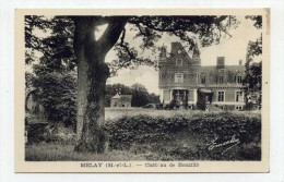 CP , 49 , MELAY , Château De Bouzillé - Frankrijk