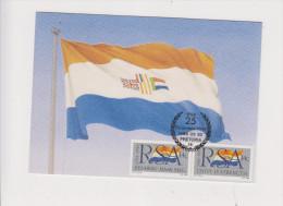 Afrique Du Sud Sur Carte Maximum - Briefe