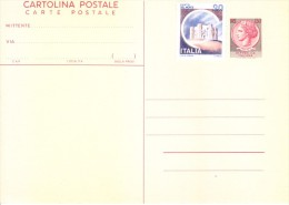 Italy Official Post Card Of 130 Lire With Additional 20 Lire Stamp - Unused - 6. 1946-.. Republic