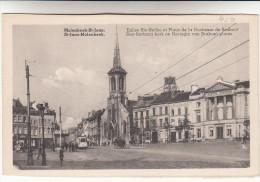 Bruxelles, Molenbeek Saint Jean, Eglise Ste Barbe Et Place De La Duchesse De Brabant (pk13534) - St-Jans-Molenbeek - Molenbeek-St-Jean