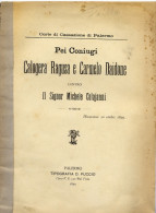 Varie 40 Pei Coniugi Calogera Ragusa E Carmelo Daidone Contro Il Sig. Michele Colajanni - Historische Dokumente