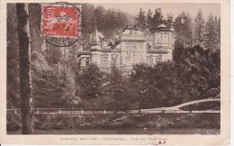 CPA Karlovy Vary/Karlsbad - Source Mattoni - Giesshübl - Vue Du Château - 1912 (1775) - Tschechische Republik