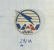 JUKL - YUGOSLAV  ASSOCIATION FLIGHT CONTROL  / YUGOSLAVIA AIR LINE AÉRIENNE Transport Air Traffic Controllers - Airplanes