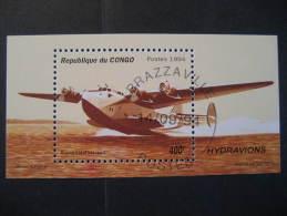 Hydravion Flying-boat 1994 Bloc Congo Brazzaville Boeing USA - Congo - Brazzaville