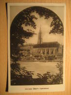 BERN BERNE Munster Cathedrale 1936 To Toggenburg Post Card Switzerland Suisse - BE Berne