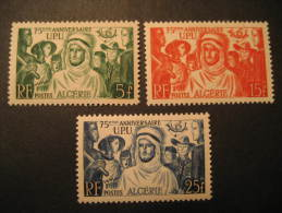 ALGERIA Col. Fr. Yvert 276/8 ** Unhinged UPU FRANCE Algerie