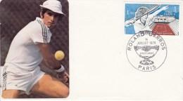TENNIS, FRANCE, 1978, Special Postmark !! - Tennis