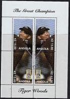 A5348 ANGOLA, Golf, Tiger Woods  CTO - Angola