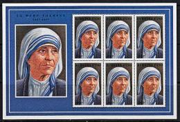 C0361 BURKINA FASO 1998, Mother Theresa  MNH - Burkina Faso (1984-...)