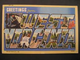 West Virginia Chester 1947 To Toronto Ontario Canada USA Post Card - Etats-Unis