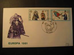 Genk 1981 Europa Europe Fencing Escrime Esgrima Belgie Belgique Belgium - Fechten