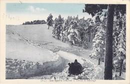 Les Sports D'hiver  Course De Bobsleigh  ( Editions :Gep Grenoble- Année 1931  )*PRIX FIXE - Sport Invernali