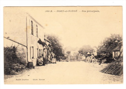 CPA (58) : MONT Et MARRE - Rue Principale - France