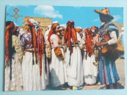MARAKKECH - Danseuses Et Porteur D'Eau - Marrakech