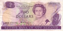 NOUVELLE-ZELANDE  2 Dollars    Emission De 1981-1983   Pick 170 A   ***** QUALITE VF+ ***** - Nouvelle-Zélande