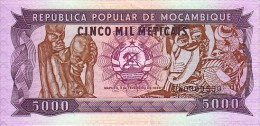 MOZAMBIQUE   5 000   Meticais    Daté Du 03-02-1989   Pick 133 B          ***** BILLET  NEUF  ***** - Mozambique