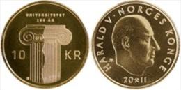 """Noruega / Norway  10 Coronas 2.011 """"Bicentenario De La Universidad De Noruega"""" KM#484 SC/UNC   T-DL-10.830 - Noruega"""
