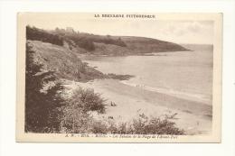 Cp, 22, Binic, Les Falaises De La Plage De L´Avant Port - Binic