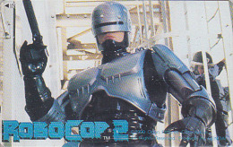 Télécarte Japon - CINEMA Film Science Fiction - ROBOCOP 2 - Japan Movie Phonecard - Kino Telefonkarte - 04 - Film