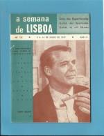 CARY GRANT - A SEMANA De LISBOA N.º 122 - Guia De Espectáculos - Guide To All Shows - Des Spectacles - Cultura