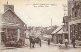 Saint-Quay Portrieux - Rue Jeanne D'Arc - Carte Animée - Saint-Quay-Portrieux