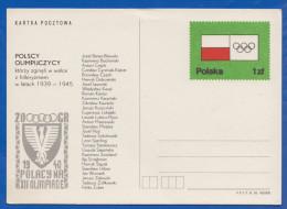 Polen; Kartka Pocztowa; 1978; Olympian Day - Stamped Stationery