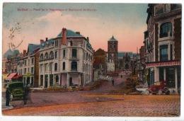 08 - RETHEL . PLACE DE LA RÉPUBLIQUE ET BOULEVARD SAINT-NICOLAS - Réf. N°185 - - Rethel