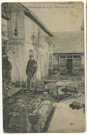 Dole Crue Du Doubs Janvier 1910 Interieur De Cour - Dole