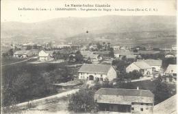 70 - CHAMPAGNEY - Haute-Saône - Vue Générale Du Magny - Les Deux Gares - Est Et CFV - Altri Comuni