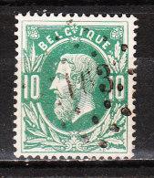 30  Leopold II - Oblit. LP163 HAL - LOOK!!!! - 1869-1883 Léopold II