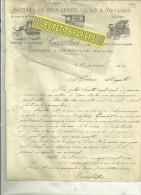 91 - Essonne - ANGERVILLE - Facture GAUCHET - Voitures En Tous Genres – 1907 - France