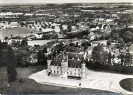 Beaumont-les-Autels. Vue Aérienne. Le Chateau. - France