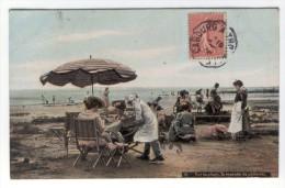 N Sur La Plage, La Tournée Du Patissier  (envoi De Cabourg) - Basse-Normandie