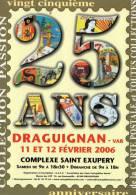 25 Cartes Pour Les 25 Ans Du Salon De Draguignan Divers ILLUSTRATEURS VEYRI FEMME NUE  BRASSENS - Illustrators & Photographers