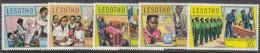 LESOTHO. 1974 YOUTH DEVELOPMENT 5  MNH - Lesotho (1966-...)