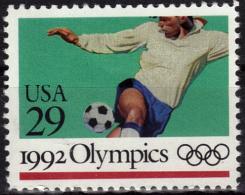 USA   N°        * *  Jo 1992    Football  Fussball  Soccer - Soccer