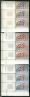 Tunisie - 3  Coins Datés 1967 -  L´Electronique Au Service Des Postes Tunisiennes - Y&T 635/636/637 ** Neufs Luxe (TB). - Tunisie (1956-...)