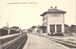 13-LA COURONNE-CARRO - LA GARE - SUPERBE - France