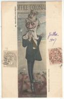 Raphaël MILLIES-LACROIX - Illustration : Ernest MULLER - Edition Ribby - Sénateur, Ministre Des Colonies - Satirical