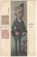 Stephen PICHON - Illustration : Ernest MULLER - Edition Ribby - Député, Sénateur, Ministre - Satiriques