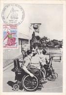 Handisport - Saint-Etienne 1970 - Javelot Basket - Handicappés - Handisport