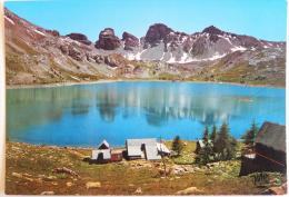 Les Alpes Pittoresques LE LAC D'ALLOS Alt. 2225 M - Au Sud Est Les Tours Du Lac - Cpsm Non écrite Correcte - Non Classés