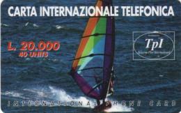 *ITALIA* - Scheda Usata - Barche