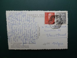 41/213       CP     POUR LA   BELG. - 1931-Today: 2nd Rep - ... Juan Carlos I