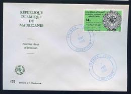 PJM175 - Mauritanie - Création De La Ligue Des Etats Arabes- 7 Mai 1985   - - Mauritanië (1960-...)