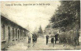 Camp De Beverloo - Inspection Par Le Chef De Corps - & Military - Leopoldsburg